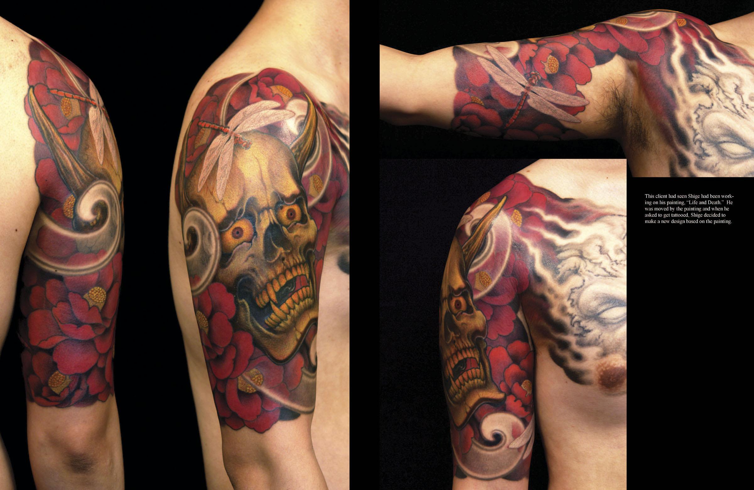 Grime Tattoo Artist >> JUST A TASTE | Baxter's Blog