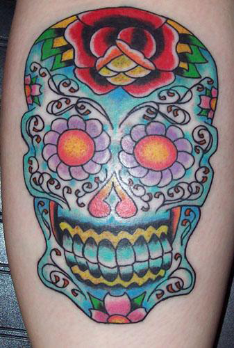 sugar skulls tattoos. Joe#39;s Sugar Skull