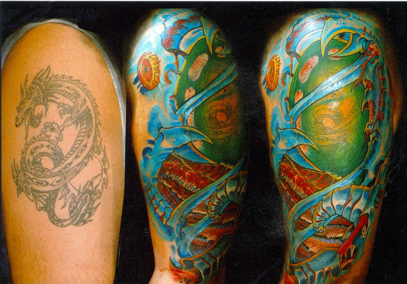 And the cover-up of the dragon