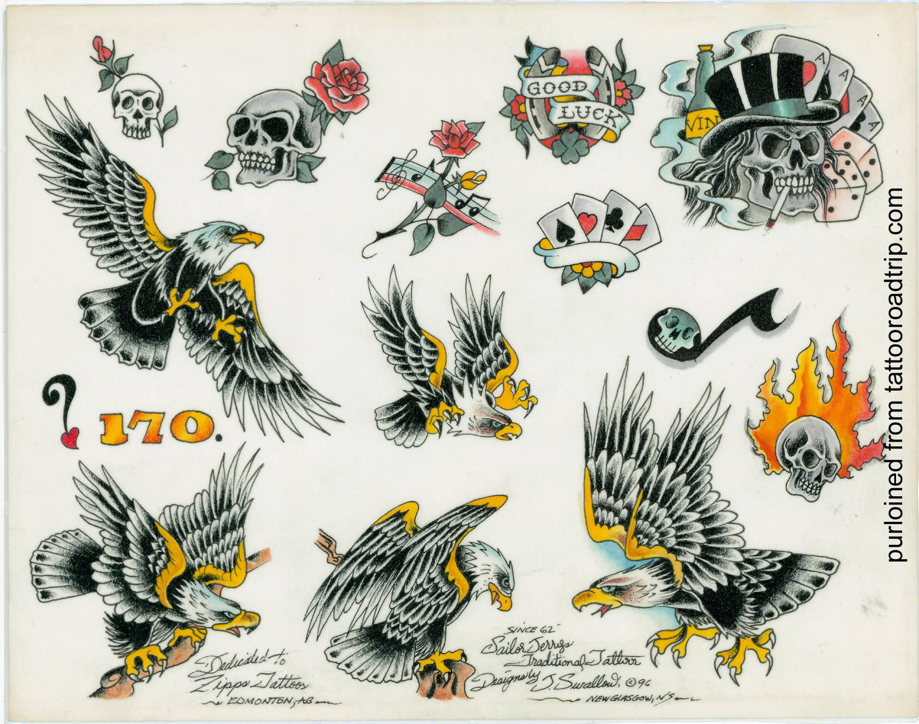 sailor jerry tattoo flash 1