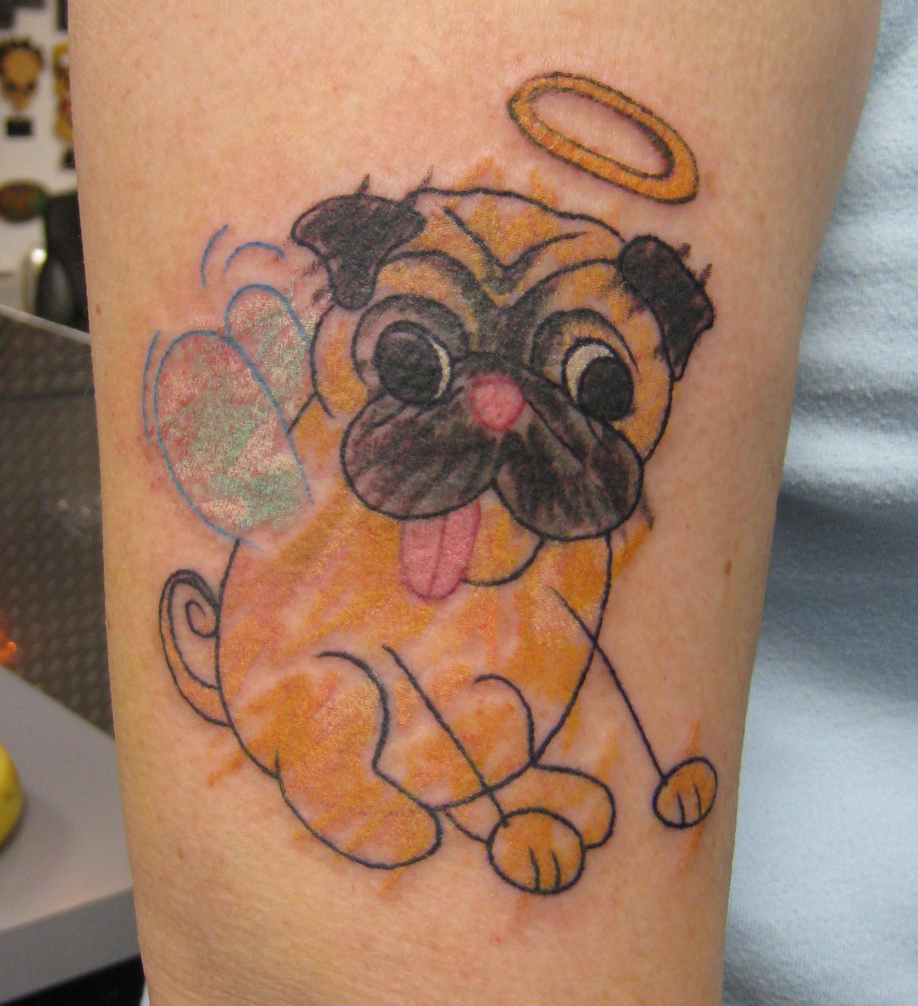 Pug Tattoo's