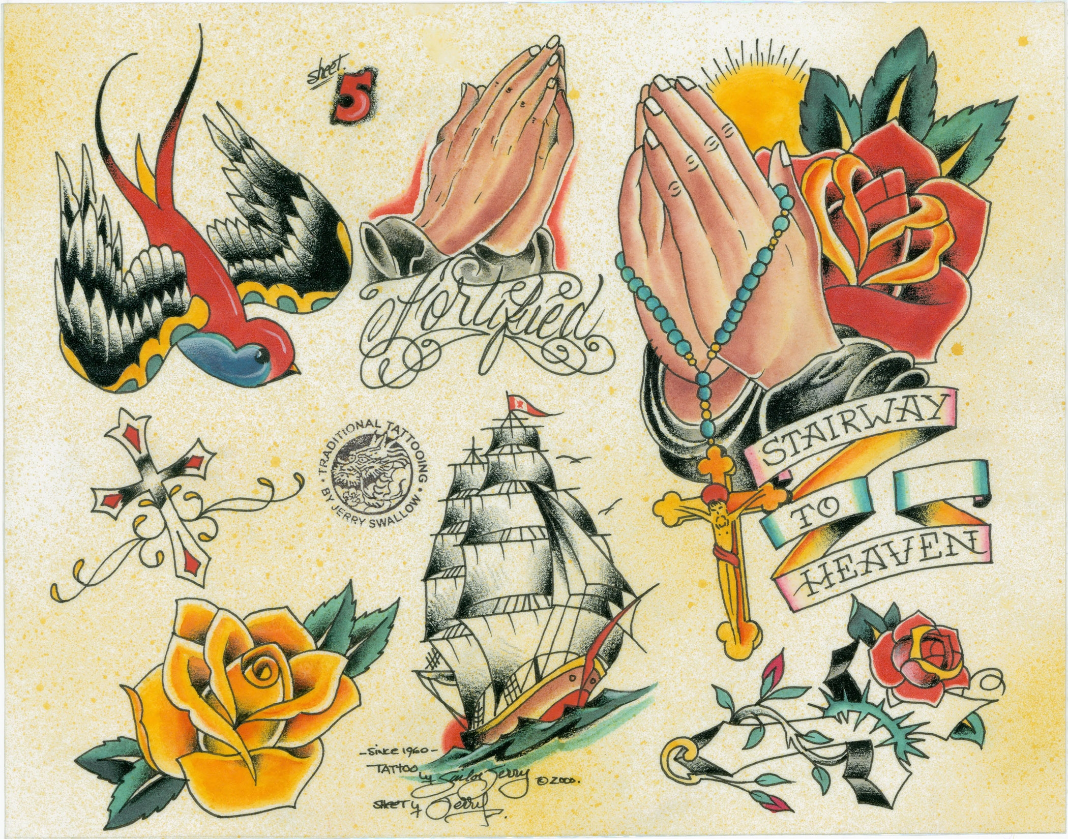 FLASH FROM THE VERY BEST   SAILOR JERRY SWALLOWSailor Jerry Swallow Tattoo