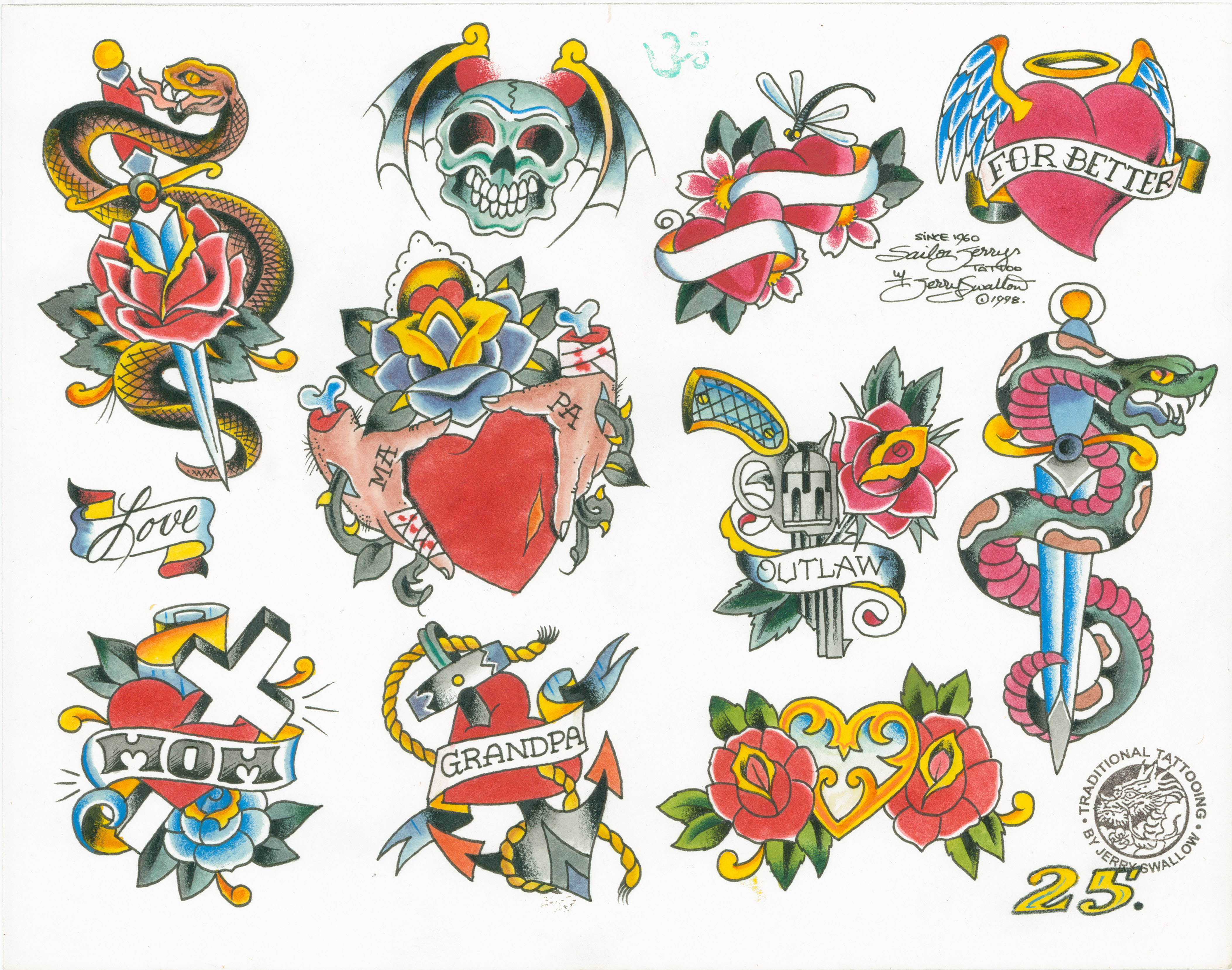 Classic Tattoo Flash