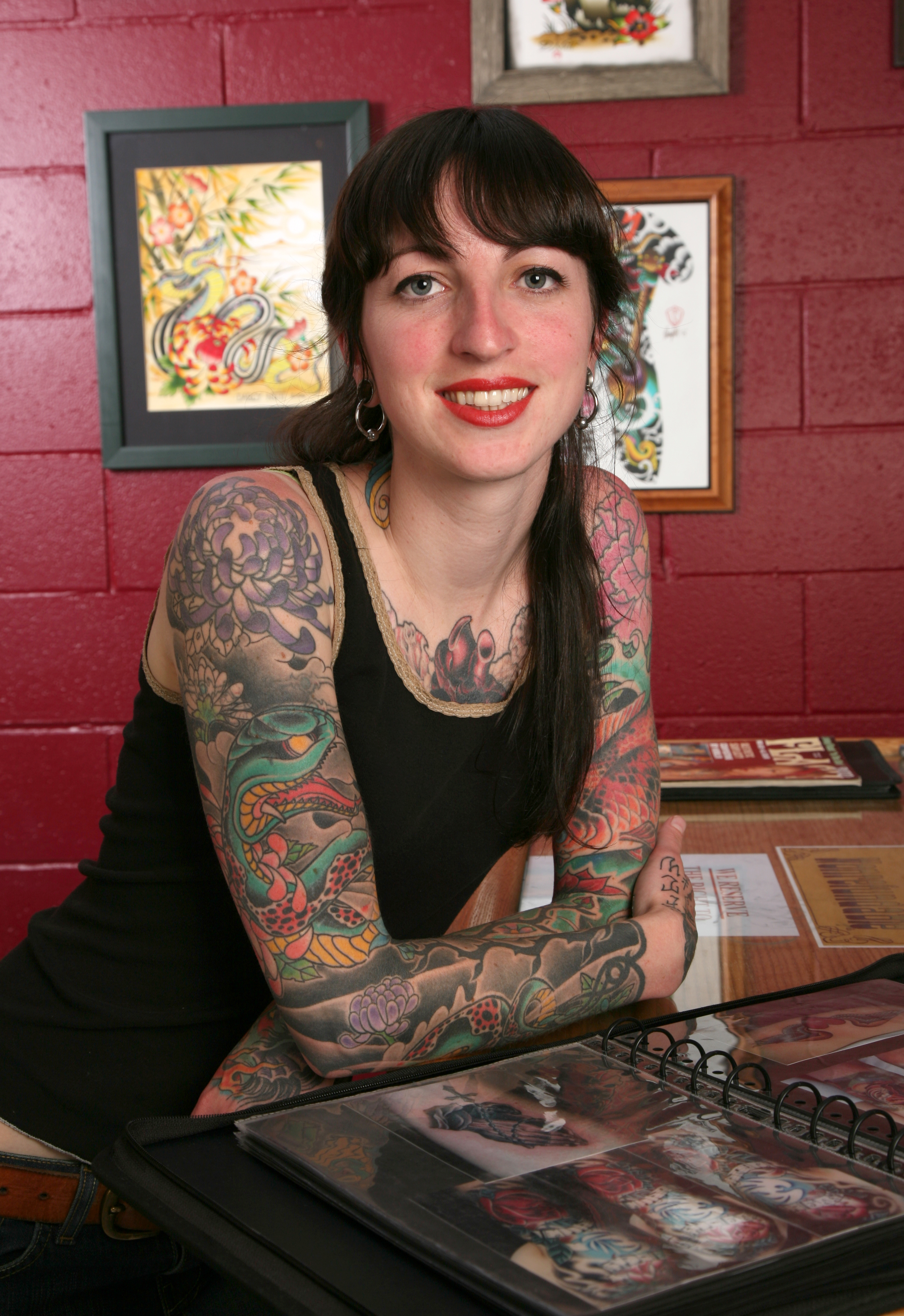 9fc39a286a051 TATTOOS BY DARCY NUTT, CHALICE TATTOO, BOISE, IDAHO. PHOTOGRAPHS BY BERNARD  CLARK (Click to enlarge). leave a comment